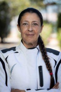 Μαρία Τσεσμελή,Πρόεδρος Α.ΜΟΤ.Ο.Ε,οδηγός αγώνων